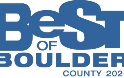Best of Boulder 2020! A Brief Taste of Normalcy